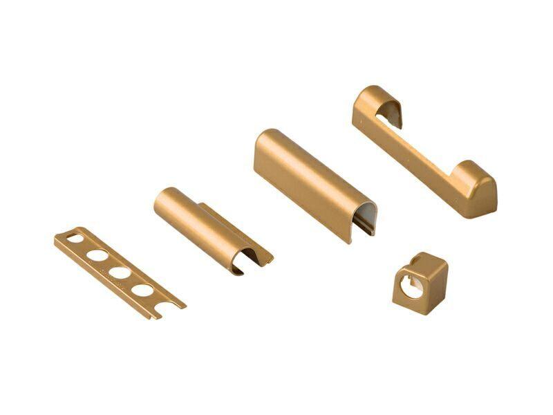 Комплект декоративных накладок Золото матовое (5 позиций)