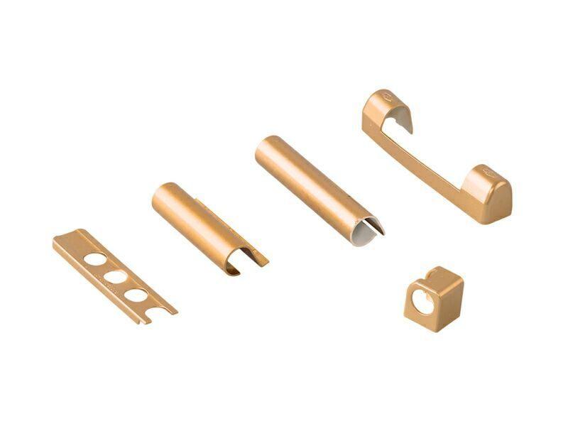 Комплект левый декор. накл. для дерева Золото матовое (5 позиций)