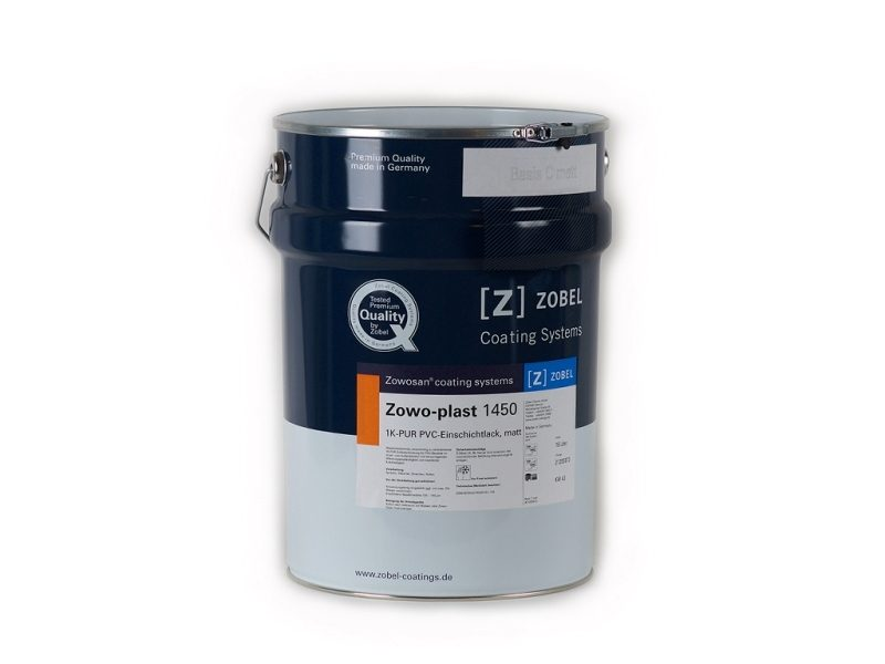 Краска для ПВХ матовая Zowo-plast 1450, база под колеровку