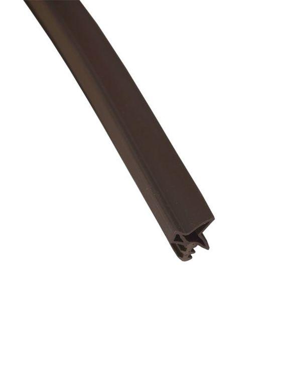 Уплотнитель для дверей DEVENTER тёмно-коричневый