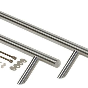 Ручка со смещением, комплект с креплением, L=800, D=32
