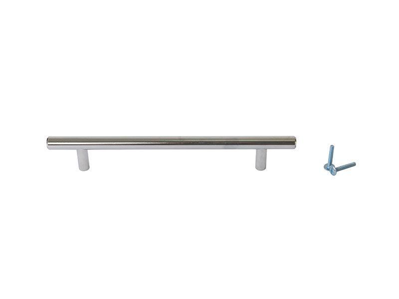 Ручка рейлинговая Firmax 160мм , металл, хром