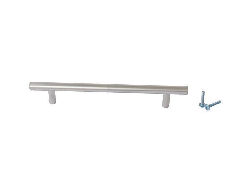 Ручка рейлинговая Firmax 160мм , металл, хром матовый