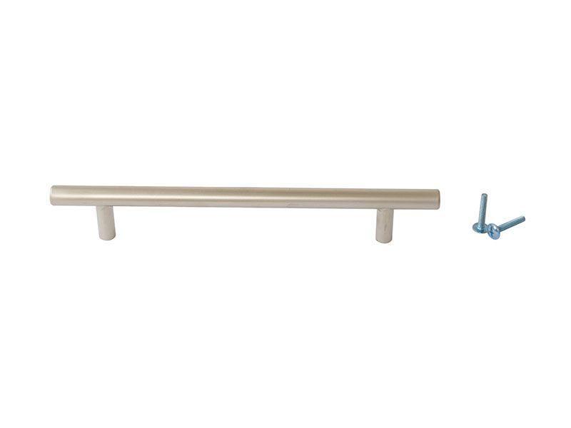 Ручка рейлинговая Firmax 160мм , металл, никель матовый