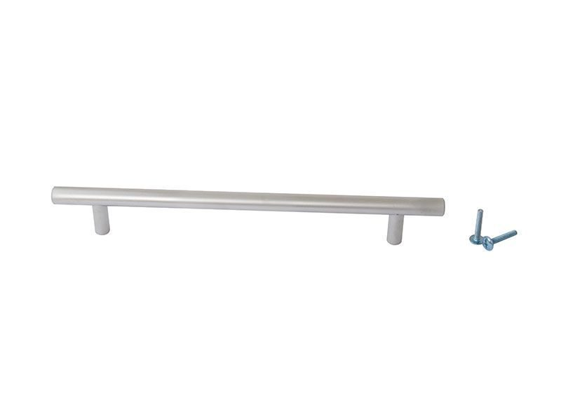 Ручка рейлинговая Firmax 192мм , металл, хром матовый