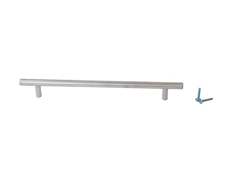 Ручка рейлинговая Firmax 224мм , металл, хром матовый