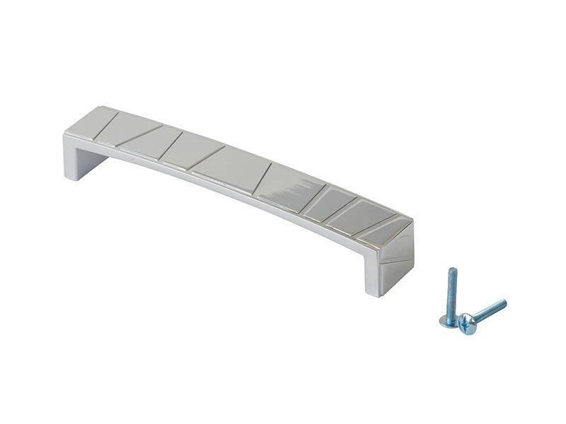 Ручка-скоба 160мм FIRMAX, металл, хром