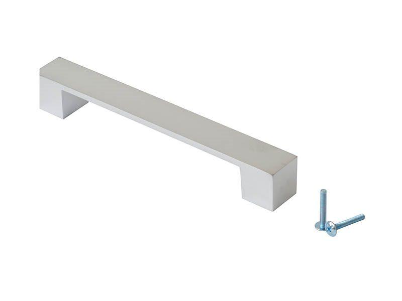 Ручка-скоба 160мм FIRMAX, металл, хром жемчуг