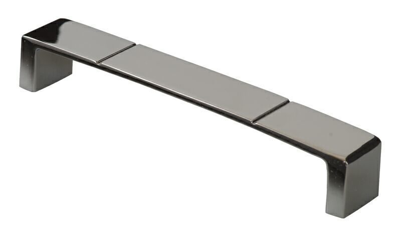 Ручка-скоба 160мм, металл, хром