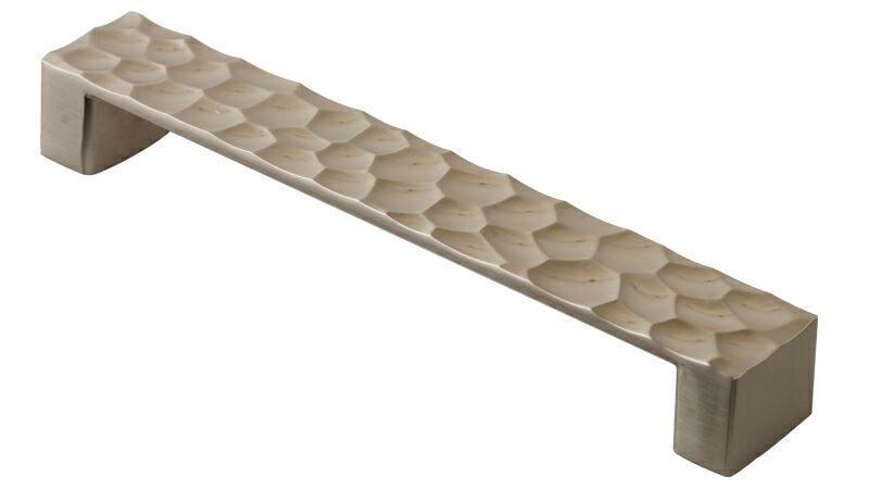 Ручка-скоба 160мм, металл, никель мат.