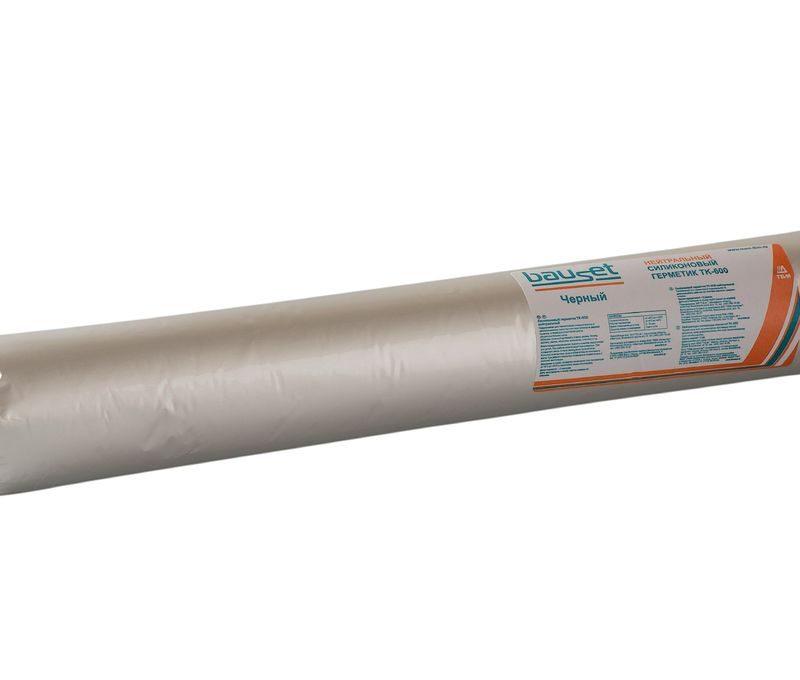 Герметик силикон нейтральный, черный 600мл