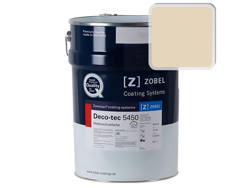 Краска для дерева ZOBEL Deco-tec 5450A RAL 1015, 1 л