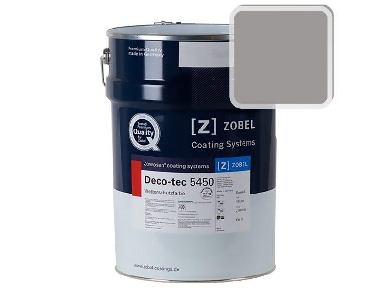 Краска для дерева ZOBEL Deco-tec 5450A RAL 7036, 1 л