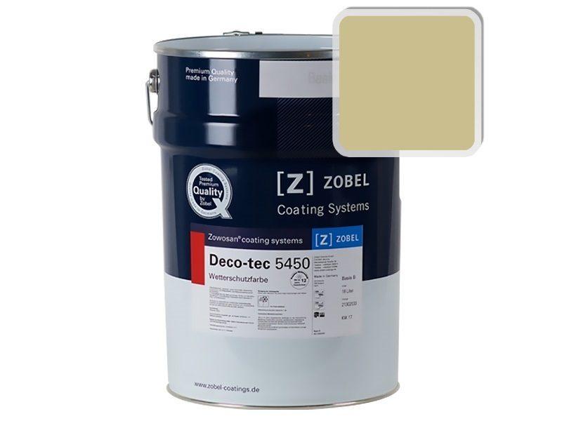 Краска для дерева ZOBEL Deco-tec 5450B RAL 1000, 1 л