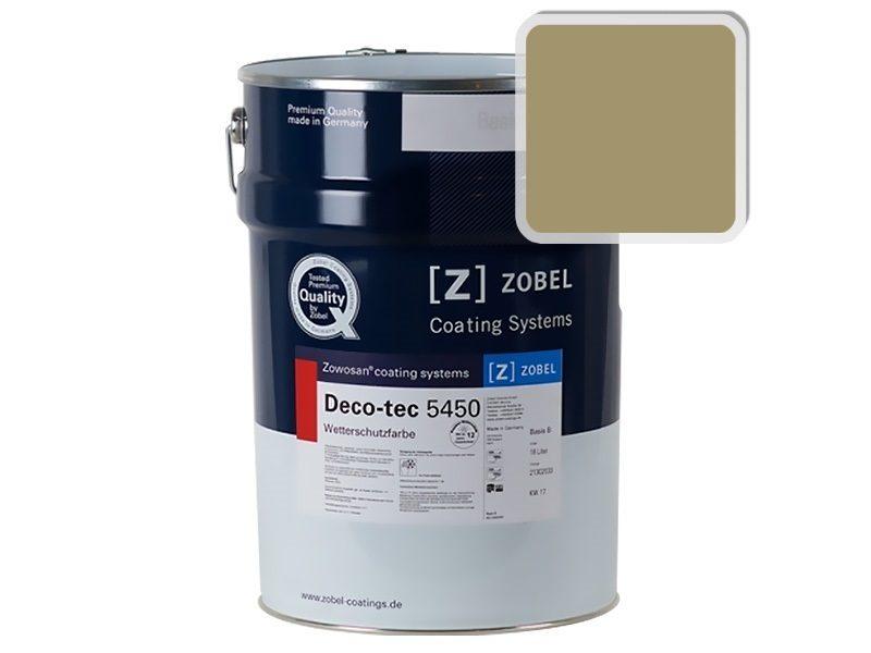 Краска для дерева ZOBEL Deco-tec 5450B RAL 1020, 1л