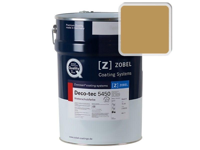 Краска для дерева ZOBEL Deco-tec 5450B RAL 1024, 1л