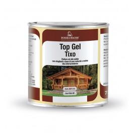 TOP GEL TIXO HS - Тиксотропный лак для наружных работ с высоким сухим остатком