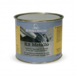 Шпаклевка 2К ПЭ для металла - K2 metal, with hardener