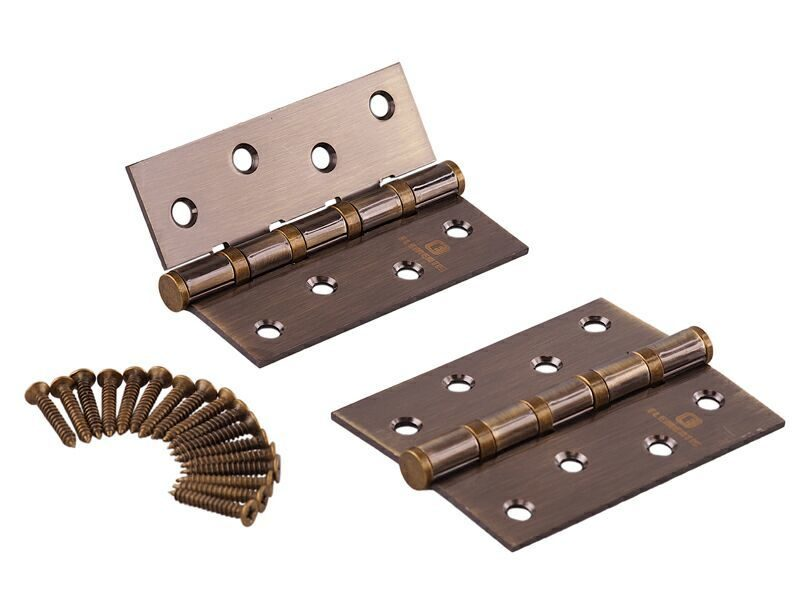 Петля карточная ELEMENTIS 100x75x2.5 мм, сталь