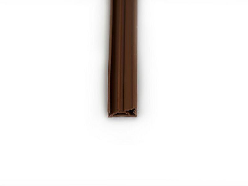 Уплотнитель для деревянных окон DEVENTER 4-5 мм коричневый