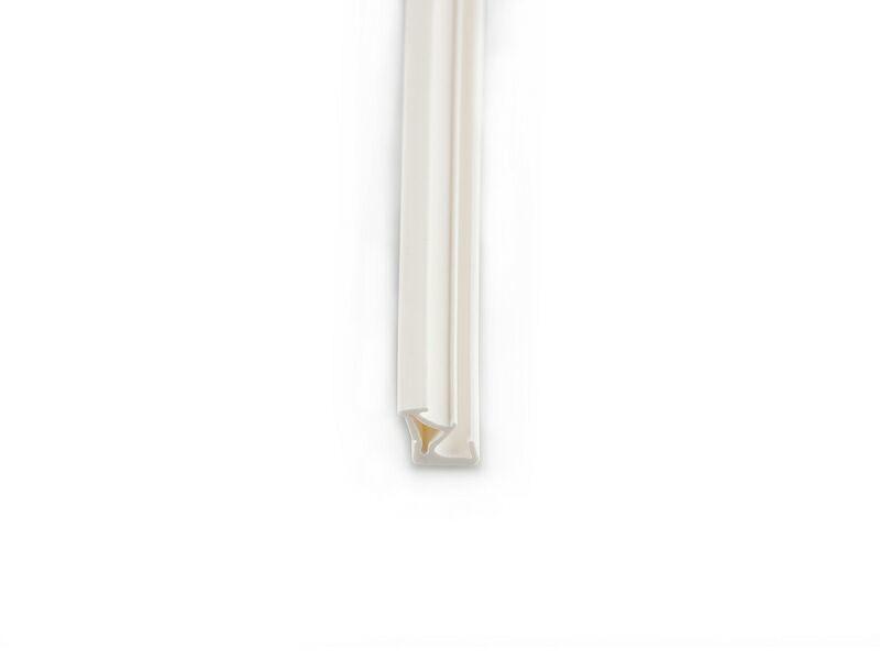 Уплотнитель для деревянных окон DEVENTER 3 мм белый
