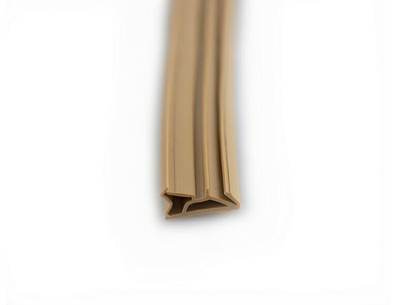 Уплотнитель для деревянных окон DEVENTER 4-5 мм бежевый