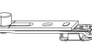 Концевой запор MACO 212212 Верхний и нижний 180°