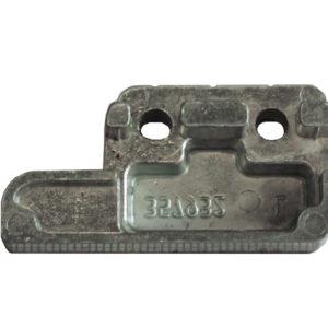Ответная планка MACO 357931 Для приподнимателя 13 мм Veka правая (attach1 12092)