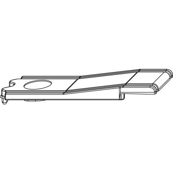 Угловой переключатель MACO 352980 Переходник для соединения штульпов