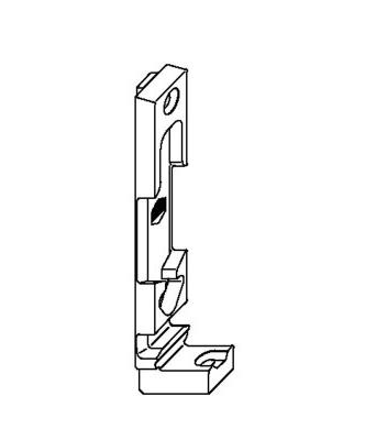 Поворотно-откидная планка MACO 33460 13 мм Rehau правая