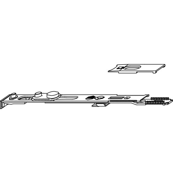 Концевой запор MACO 52433 Для двери с соединительной пластиной