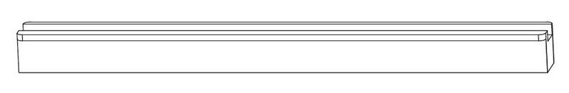 Подкладка MACO 41263 для шпингалета 7/8