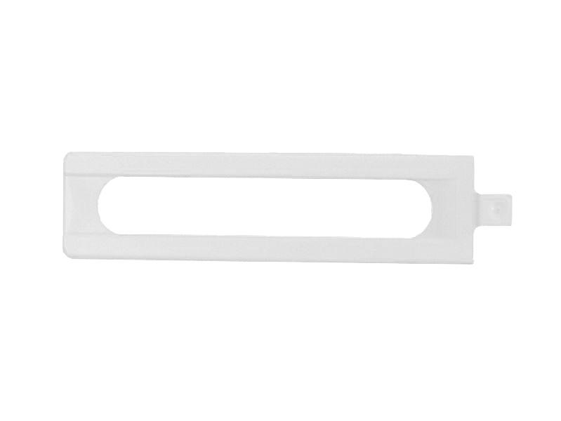 Декоративная накладка MACO 41743 на нижнюю петлю рамы длинная белая
