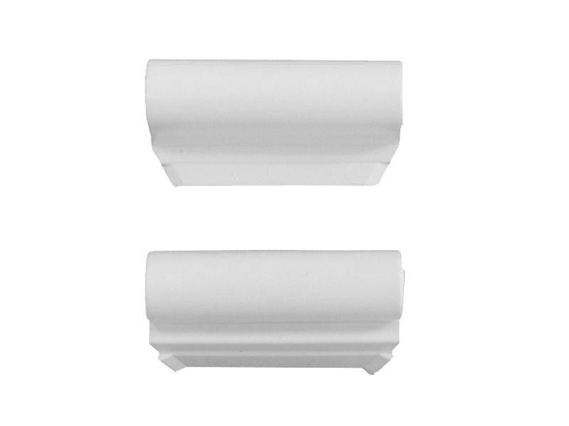Декоративная накладка MACO 42084 на верхнюю петлю створки белая