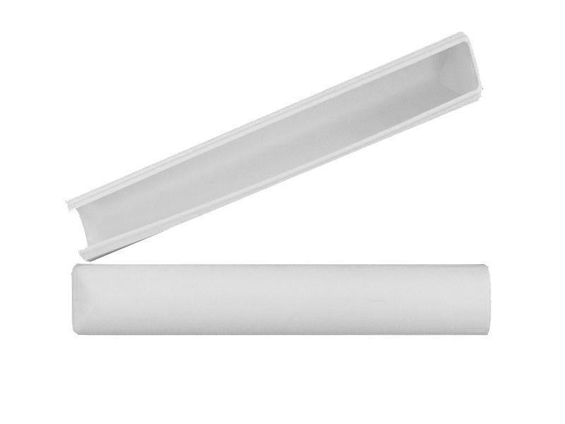 Декоративная накладка MACO 42087 на нижнюю петлю створки белая