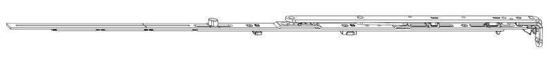Ножницы MACO 211698 Петлевые FFB 801-1050 мм