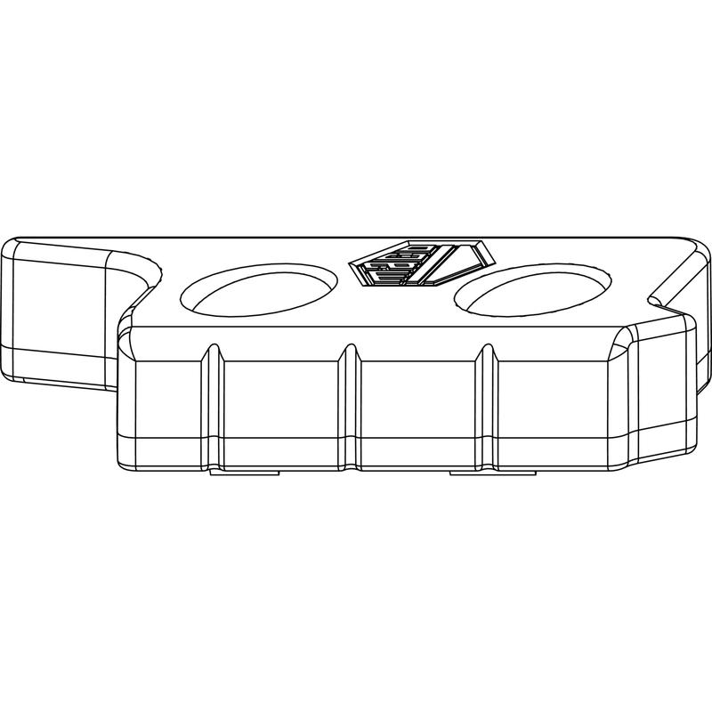 Ответная планка MACO 356298 Для приподнимателя 9 мм правая