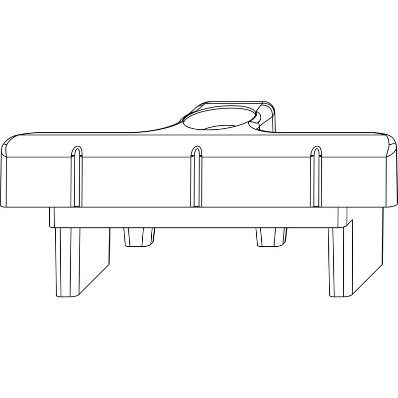 Ответная планка MACO 34610 в штульп