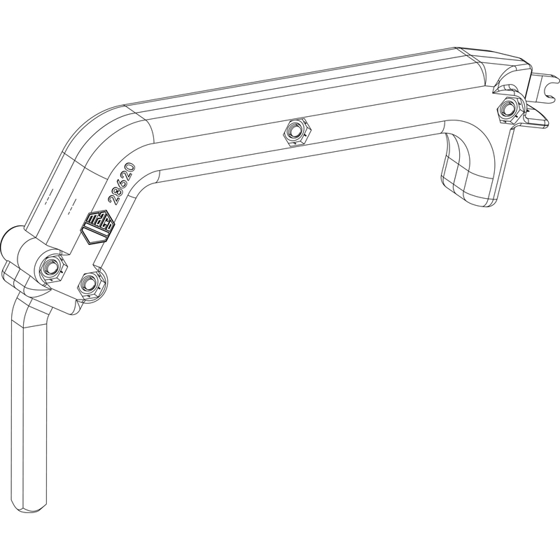 Инструмент для регулировки MACO Ключ для штифта 28620