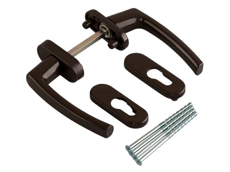 Балконная ручка Rotoline коричневый