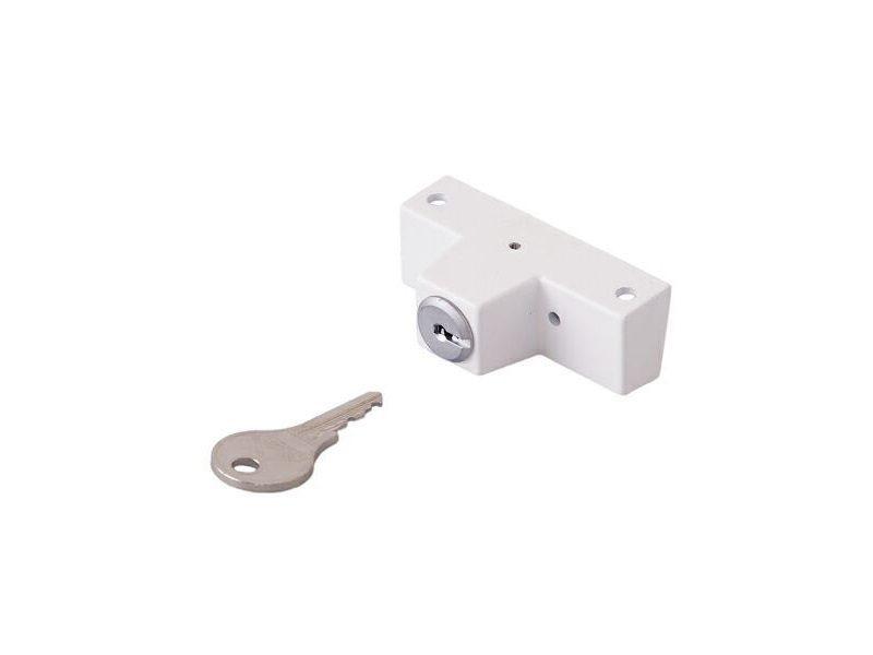Блокиратор Roto с ключом белый (детский замок)