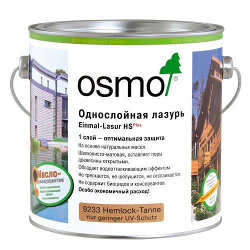 Однослойная лазурь OSMO