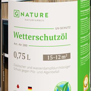 Защитное масло для внешних работ G-Nature