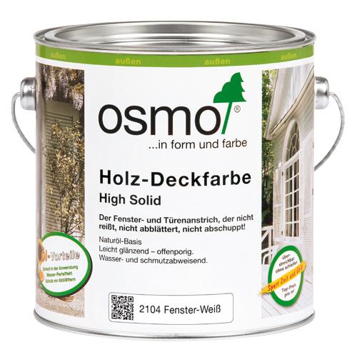 Белая краска OSMO для окон и дверей