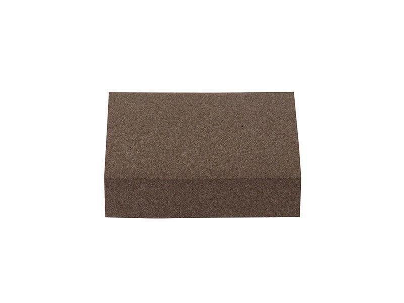 Блок шлифовальный зерно P100 98x69x26мм (жесткий)