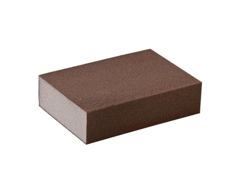 Блок шлифовальный зерно P220 98x69x26мм ZF(мягкий)