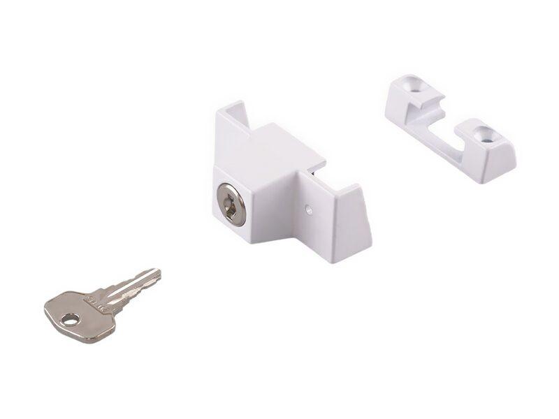 Блокиратор с ключом SIEGENIA (детский замок), белый
