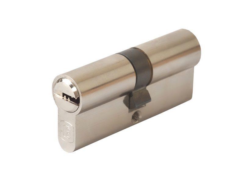 Цилиндр профильный ELEMENTIS 35/35 повышенной прочности, никелированный