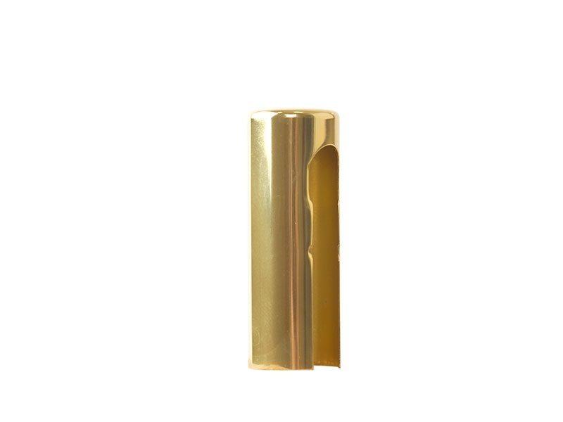 Колпачок декоративный ELEMENTIS d16, латунь полированная, алюминиевый