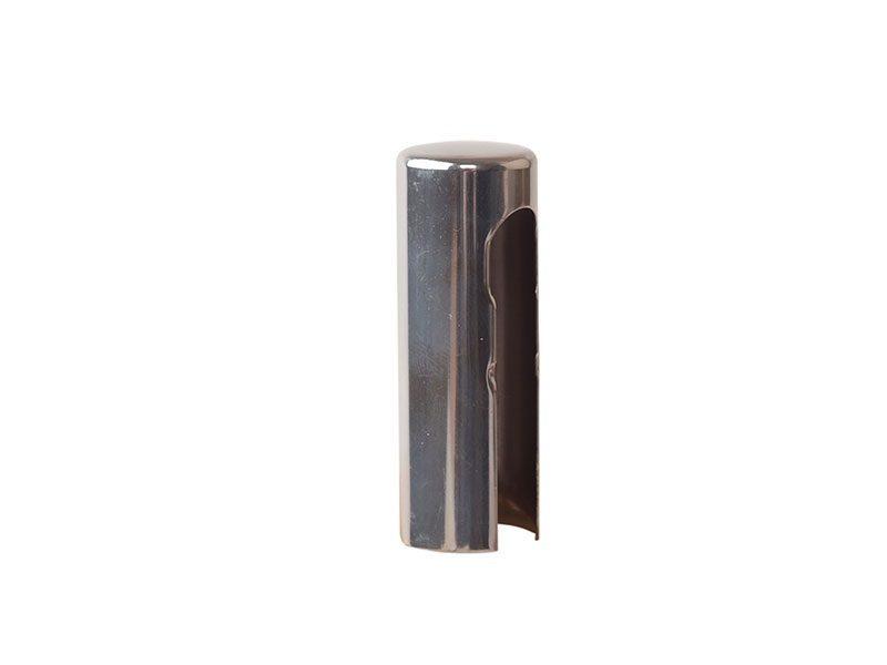 Колпачок декоративный ELEMENTIS d16, никель полированный, алюминиевый